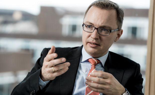 Patrick Dahmen, Vorstandsmitglied des Axa-Konzerns und der Axa-Lebensversicherung. Foto: Jochen Rolfes