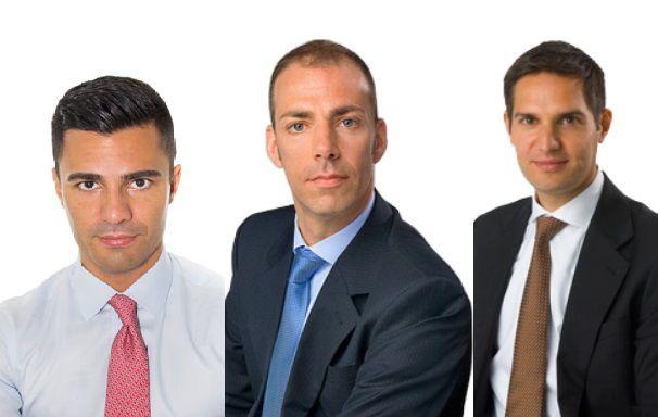 Die Vorstände Mohammad Dastmaltchi, Steffen Fix und Yasin Qureshi verlassen zum Monatsende die Varengold Bank. Fotos: Varengold Bank
