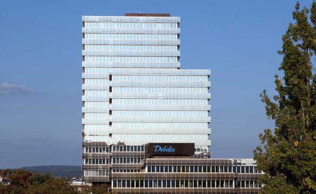 Die Hauptverwaltung der Debeka in Koblenz. Foto: Debeka