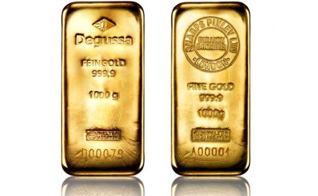 Degussa will Gold- und Silberbarren mit Sharps-Pixley-Logo rausgeben. (Foto: Degussa)