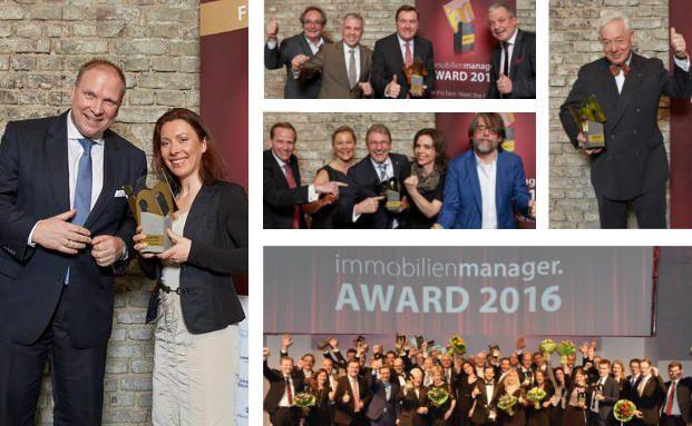 Immobilienmanager Award 2016: Das sind die Besten der Branche