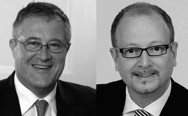 Thomas Dinges (links) und Thomas Gils, Max.xs