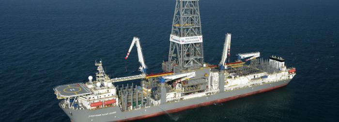 Die Discoverer Enterprise von Transocean,<br>dem weltgr&ouml;&szlig;ten Anbieter von Bohrschiffen<br>und Bohrinseln<br>Foto: Transocean