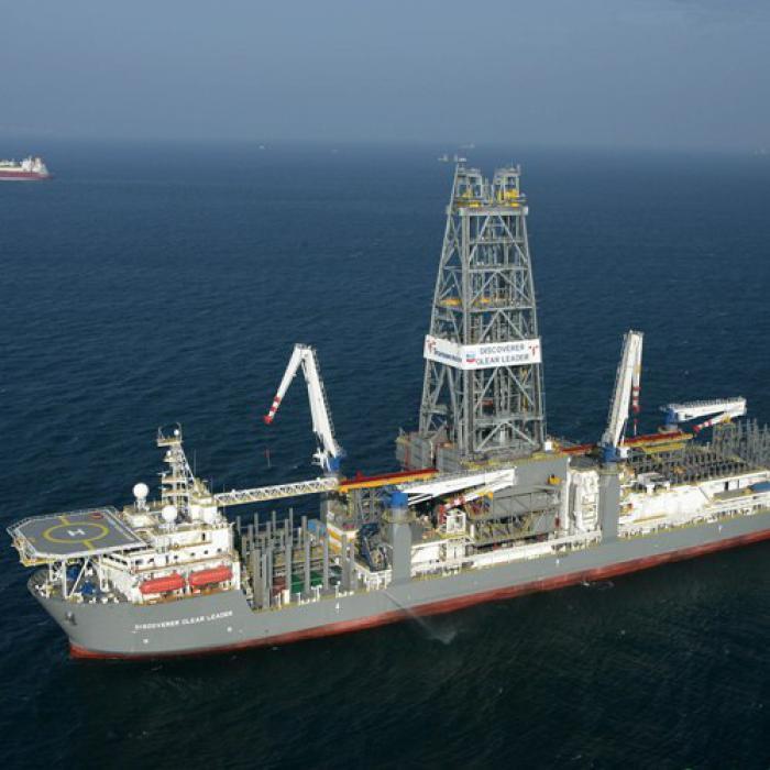 Die Discoverer Enterprise von<br>Transocean<br>Foto: Transocean