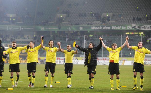 Das junge Team von Borussia Dortmund, Foto: Getty Images