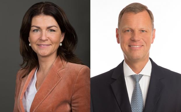 Christian Koch und Izabel Danner gehören künftig zum Vorstand der JLL Deutschland.