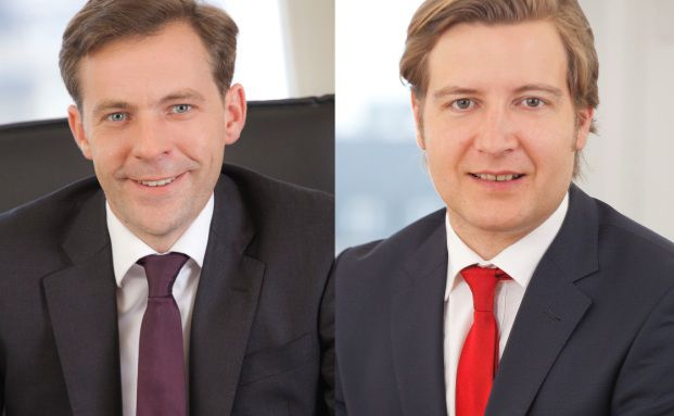 Oliver Drewes (links) und Achim Denkel, Maxpool