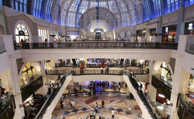 """Die """"Emirates Mall"""" in Dubai: Hier kaufen die Reichen ein <br> Foto: Getty Images"""