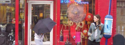 Stra&szlig;enszene in Dublin: Kommt Irland <br> aus der Krise? Quelle: Rehberg/Pixelio