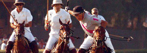 Edouard Carmignac beim Polo-Spiel