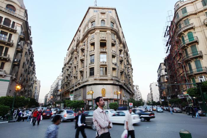 Talaat-Harb Platz in Kairo. Dank voranschreitender Reformen ist Ägypten für Investoren zunehmend interessant. Foto: Getty Images