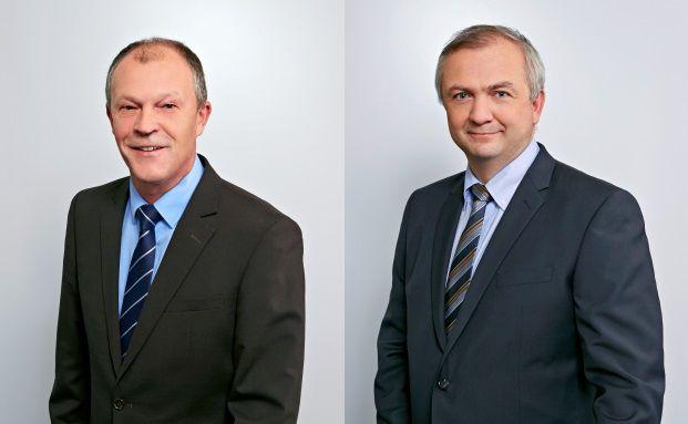 Rudolf Gattringer (links) und Kurt Eichhorn, Manager des Kepler Vorsorge Mixfonds