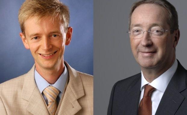 Gewinner und Verlierer: Olaf Johannes Eick, Manager des <br> Multi-Invest OP, und Alexander Seibold, Manager des <br> Active DSC Opportunity