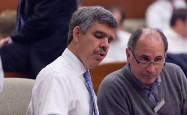 Mohamed El-Erian (li.) und Chris Dialynas Foto: Bill Gallery