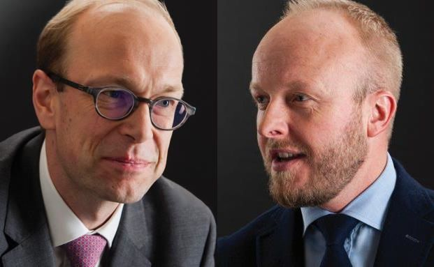Glauben an China: Emil Wolter (links) und Wojciech Stanislawski, Manager des Comgest Growth Emerging Markets