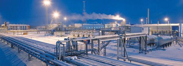 &Ouml;lf&ouml;rderung in Sibirien<br>(Foto: www.erdoel-erdgas.de)