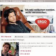 Screenshot Ergo-Webseite