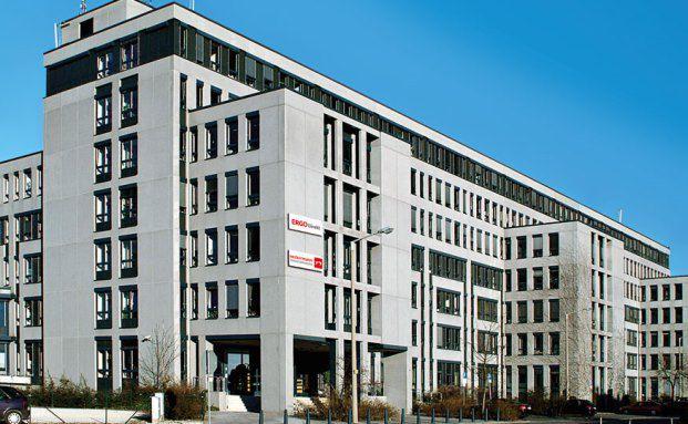Die Zentrale der Ergo Direkt in Nürnberg. Foto: Ergo Direkt
