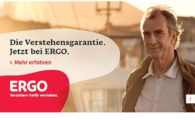 Die Ergo wirbt auf ihrer Internetseite mit Transparenz und leicht <br>durchschaubaren Vertr&auml;gen.Quelle: Ergo