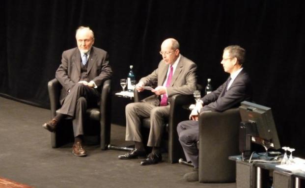 Ifo-Chef Hans-Werner Sinn (links) und Wirtschaftsweiser Peter Bofinger