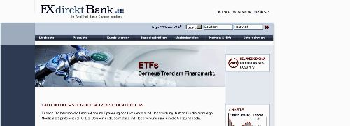 : FXdirekt Bank verpasst ETF-Palette einen Turbo