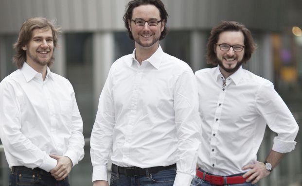 Fairr-Erfinder Ambros Gleißner, Jens Jenneissen und Alexander Khim (von links). Foto: Fairr.de