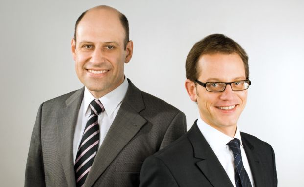 Wolfgang Klopfer (links) und Jochen Felsenheimer
