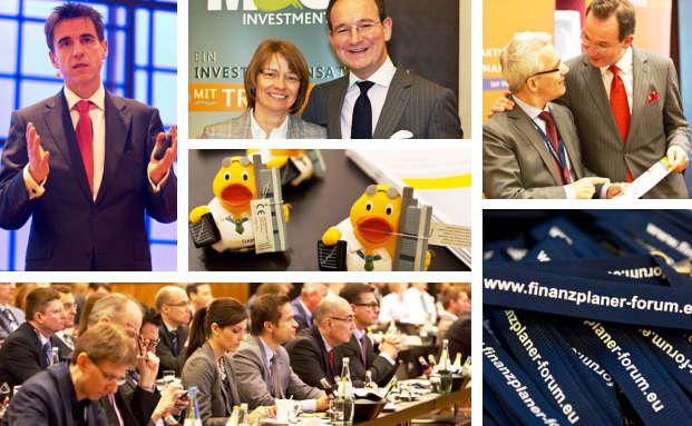 Das Finanzplanerforum in Düsseldorf. 200 Finanzplaner debattierten über Rahmenbedingungen, Marktrends und Strategien. Fotos: Axel Jusselt /Finanzplaner Forum