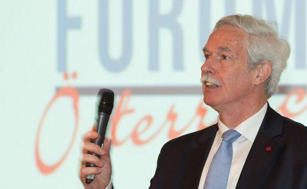 Professor Otto Lucius, Präsident des österreichischen Verbandes Financial Planners und Mit-Initiator des Finanzplaner Forums (Foto: Fotostudio Huger Wien / Finanzplaner Forum Österreich)