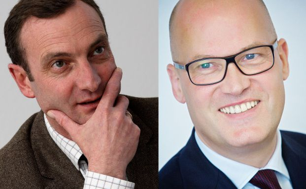 Stefan Michler (links) und Lambert Stegemann, Finet