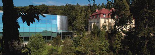 Das Bürogebäude von Fidelity in Kronberg<br>im Taunus