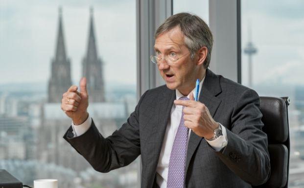 Bert Flossbach, Fondsmanager und Chef der Vermögensverwaltung Flossbach von Storch. Foto: Juergen Bindrim