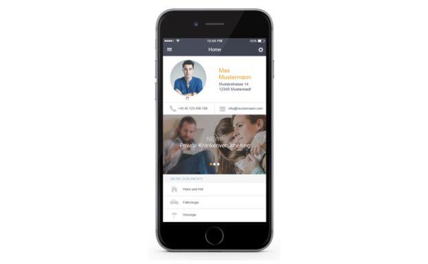 Ein Screenshot der neuen App von Fonds Finanz. Finanz-Apps füllen neue Nischen der Digitalisierung aus und schaffen so Nachfrage. Foto: Getty Images