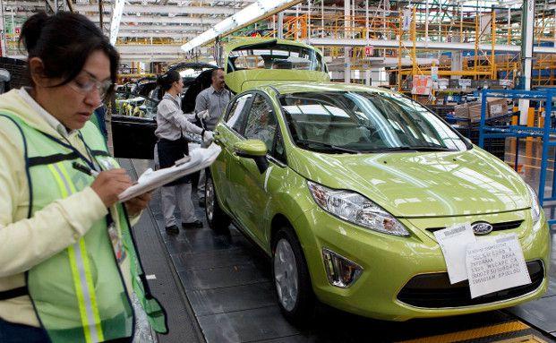 Das Ford-Werk in Mexiko (Foto: Bloomberg)