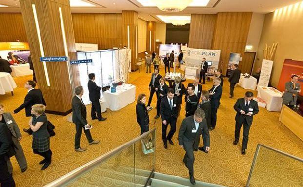 Finanzplaner Forum 2015 in Düsseldorf. Foto: Axel Jusseit
