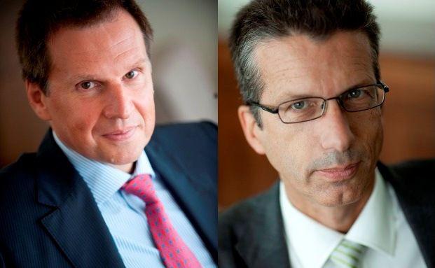 Christophe Donay (links) und Bernhard Lambert von Pictet & Cie