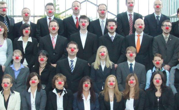 Das rotnasige Poolteam, Quelle: Fonds Finanz