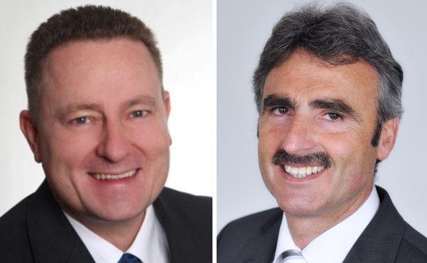 Uwe Eilers, Vorstand von Geneon Vermögensmanagement (links) und Bern Heimburger, Stiftungsmanager von Gies & Heimburger (rechts). Die beiden vertreten unterschiedliche Meinungen bezüglich der Rentabilität von Immobilien-Investments.
