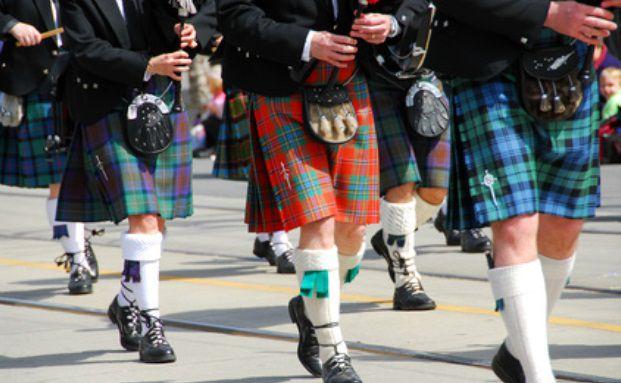 Aufmarsch der Schotten Quelle: Fotolia