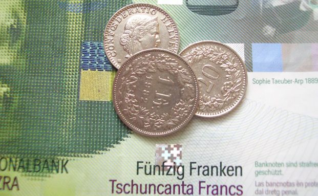 Schweizer Franken: eine harte W&auml;hrung <br> Quelle: Pixelio