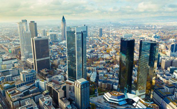 Die Bankenzentrale in Deutschland: Frankfurt am Main (Foto: science photo/Fotolia)