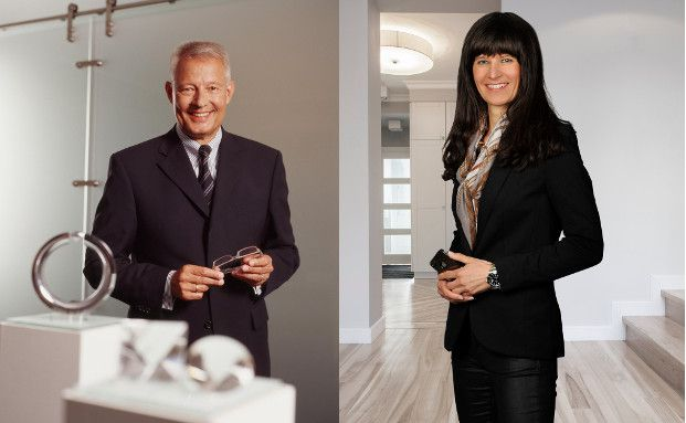 Ulrich Freiesleben,  geschäftsführender Gesellschafter und Katja Herrmann,  geschäftsführende Gesellschafterin bei Diamondstoxx
