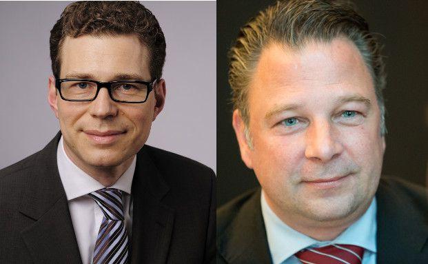 Stefan Fritz (links), Leiter des Stiftungsmanagements der Hypovereinsbank/Unicredit Bank, und Jörg Seifart, Gründer und Geschäftsführer der Gesellschaft für das Stiftungswesen (Fotos: P. Hipp/Chr. Scholtysik)