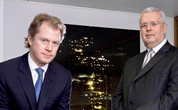 Andrew Stevens (links) und Gavyn Davies (rechts)