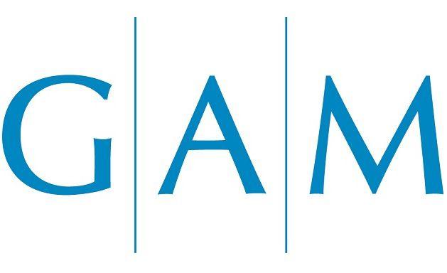 Das neue Logo von GAM