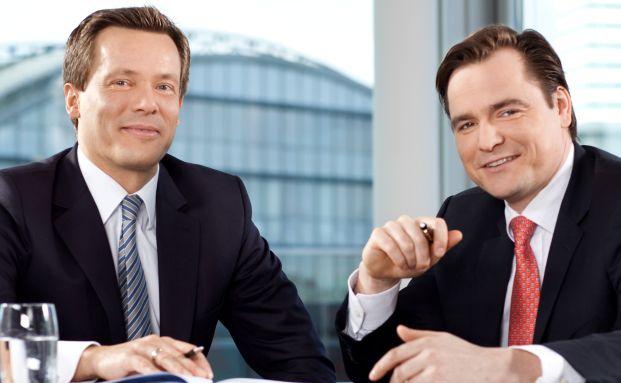 Neue Chefs bei Nordcapital: Florian Maack (links, verantwortlich für Vertrieb, Marketing und Treuhand) und Felix von Buchwaldt (Projektentwicklung und Asset Management)