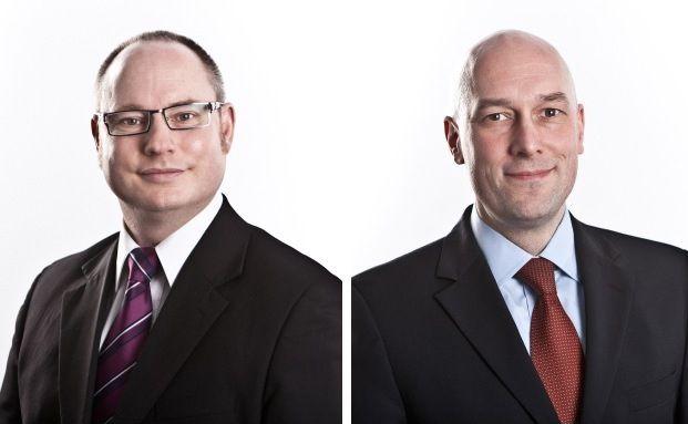 Mifid II sieht keine Umsatzsteuer auf Anlagevermittlung vor, beteuern Rechtsanwalt Oliver Korn von GPC Law, und Steuerberater Daniel Ziska von GPC Tax (v. li.)