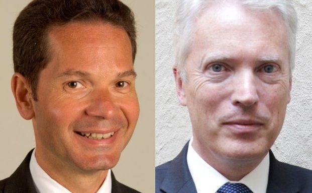 Patrice Gautry (links) und Alan Mudie, beide UBP