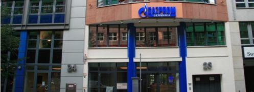 Sitz der deutschen Tochter des russischen <br> Energieriesen Gazprom in Berlin; <br> Schwellenmarkt-Indizes werden zu stark von Einzel- <br> werten beeinflußt; Quelle: Gazprom Germania