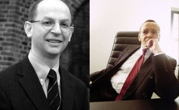 Spitzenreiter Georg Geiger (links), Schlusslicht Heinrich Morgen